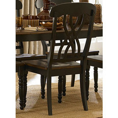 Buy Homelegance Ohana Side Chair in Antique Black on sale online