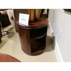 Buy Homelegance Orlin Contemporary Round End Table in Cherry on sale online