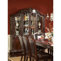 Buy Homelegance Palace Buffet w/ Hutch in Rich Brown on sale online