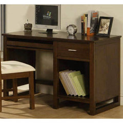 Buy Homelegance Paula II Writing Desk in Medium Brown on sale online