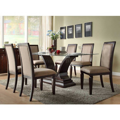 Buy Homelegance Plano 72x40 Dining Table w/ U Base on sale online