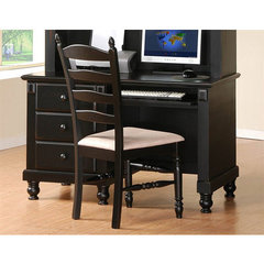 Buy Homelegance Pottery Writing Desk in Black on sale online