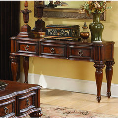 Buy Homelegance Prenzo 54x18 Sofa Table w/ Drawers on sale online