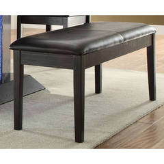 Buy Homelegance 42x16 Inch Pulse Contemporary Bench in Espresso on sale online