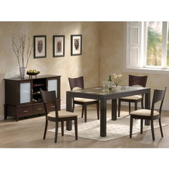 Buy Homelegance Radius 5 Piece 60x36 Dining Room Set on sale online