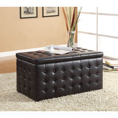 Buy Homelegance Reynolds Storage Bench w/ 2 Ottomans on sale online