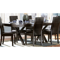 Buy Homelegance Rigby 64x40 Dining Table w/ 14 Inch Leaf on sale online