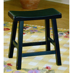 Buy Homelegance Saddleback 18 Inch Side Chair in Black Sand on sale online
