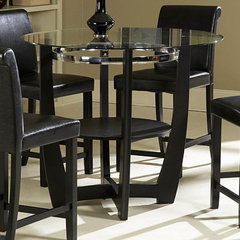 Buy Homelegance Sierra 42 Inch Round Counter Height Table in Ebony on sale online