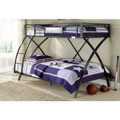 Buy Homelegance Spaced Out Twin/Full Bunk Bed on sale online