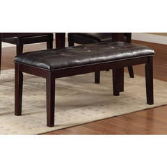 Buy Homelegance 49x18 Inch Thurston Contemporary Bench in Espresso on sale online
