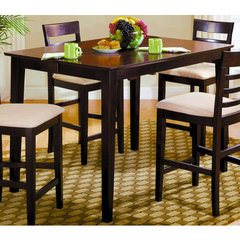 Buy Homelegance Townhouse Butterfly Leaf 54x36 Pub Table in Ebony on sale online
