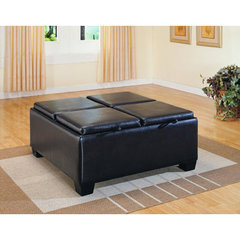 Buy Homelegance Vega Ottoman w/ 4 Storages on sale online