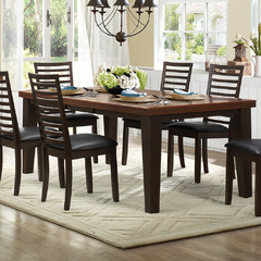 Buy Homelegance Walsh 64x42 Dining Table in Walnut on sale online