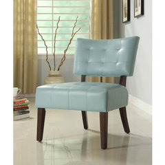 Buy Homelegance Warner Accent Chair in Sky-Blue on sale online