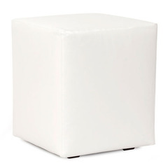 Buy Howard Elliott Atlantis White Universal Cube Ottoman on sale online