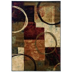 Buy Oriental Weavers Sphinx Hudson Contemporary Brown Rug - HUD-2544B on sale online