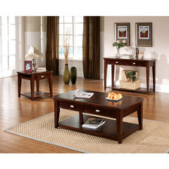 Buy Steve Silver Huntington 3 Piece Occasional Table Set in Cherry on sale online