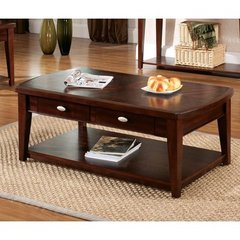 Buy Steve Silver Huntington 48x26 Cocktail Table in Cherry on sale online