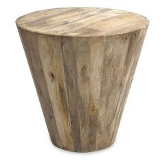 Buy IMAX Worldwide 24x24 Fabiola Wood Accent Table in Light Wood, Natural on sale online