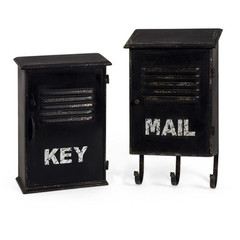 Buy IMAX Worldwide Alastor Key and Mail Boxes (Set of 2) on sale online
