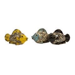 Buy IMAX Worldwide Baby Bates Ceramic Fish (Set of 3) on sale online