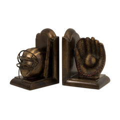 Buy IMAX Worldwide Baseball Bookends (Set of 2) on sale online