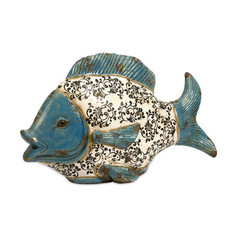 Buy IMAX Worldwide Bates Ceramic Fish on sale online