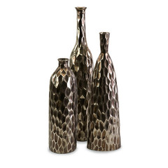 Buy IMAX Worldwide Bevan Ceramic Vases (Set of 3) on sale online