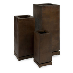 Buy IMAX Worldwide CK Tall 5th Avenue Planters (Set of 3) on sale online