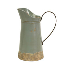 Buy IMAX Worldwide Calista Tall Pitcher w/ Metal Handle on sale online