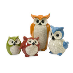 Buy IMAX Worldwide Enchanted Owls (Set of 4) on sale online