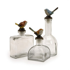 Buy IMAX Worldwide Maco Bird Bottles (Set of 3) on sale online