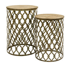 Buy IMAX Worldwide Maridell Nesting Tables (Set of 2) on sale online