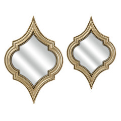 Buy IMAX Worldwide Marietta Wall Mirrors (Set of 2) on sale online