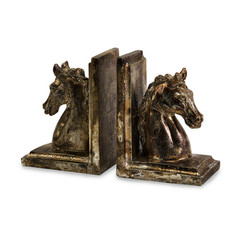 Buy IMAX Worldwide Quinn Horse Bookends (Set of 2) on sale online