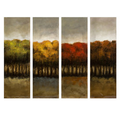 Buy IMAX Worldwide The Four Seasons Four Canvas Oil Painting on sale online