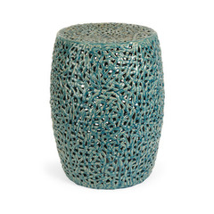 Buy IMAX Worldwide Tobias Cutwork Garden Stool on sale online