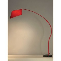 Buy NOVA Lighting Ibis Arc Floor Lamp in Red on sale online