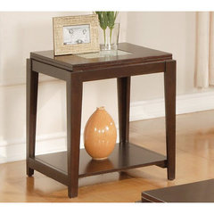 Buy Steve Silver Ice 22x22 Square End Table in Cherry on sale online