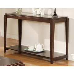 Buy Steve Silver Ice 48x18 Sofa Table in Cherry on sale online