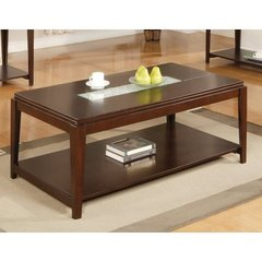 Buy Steve Silver Ice 48x28 Cocktail Table in Cherry on sale online