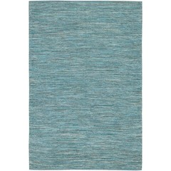 Buy Chandra Rugs India Hand-Woven Contemporary Blue Rug - IND14 on sale online