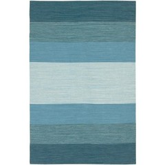 Buy Chandra Rugs India Hand-Woven Contemporary Blue Rug - IND2 on sale online