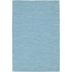 Buy Chandra Rugs India Hand-Woven Contemporary Blue Rug - IND7 on sale online