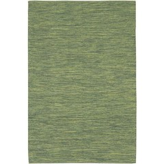 Buy Chandra Rugs India Hand-Woven Contemporary Green Rug - IND13 on sale online