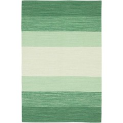 Buy Chandra Rugs India Hand-Woven Contemporary Green Rug - IND5 on sale online