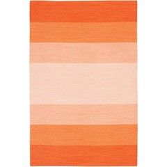 Buy Chandra Rugs India Hand-Woven Contemporary Orange Rug - IND1 on sale online