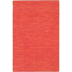Buy Chandra Rugs India Hand-Woven Contemporary Red Rug - IND12 on sale online
