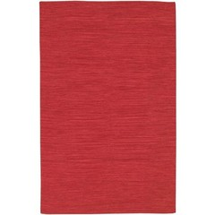 Buy Chandra Rugs India Hand-Woven Contemporary Red Rug - IND9 on sale online